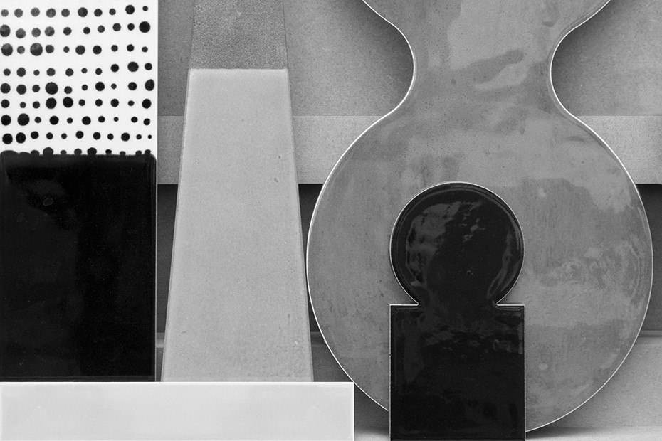 Lubna Chowdhary, Serial Structures (black and white image)